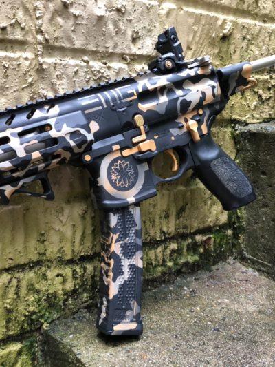 1.) Firearms