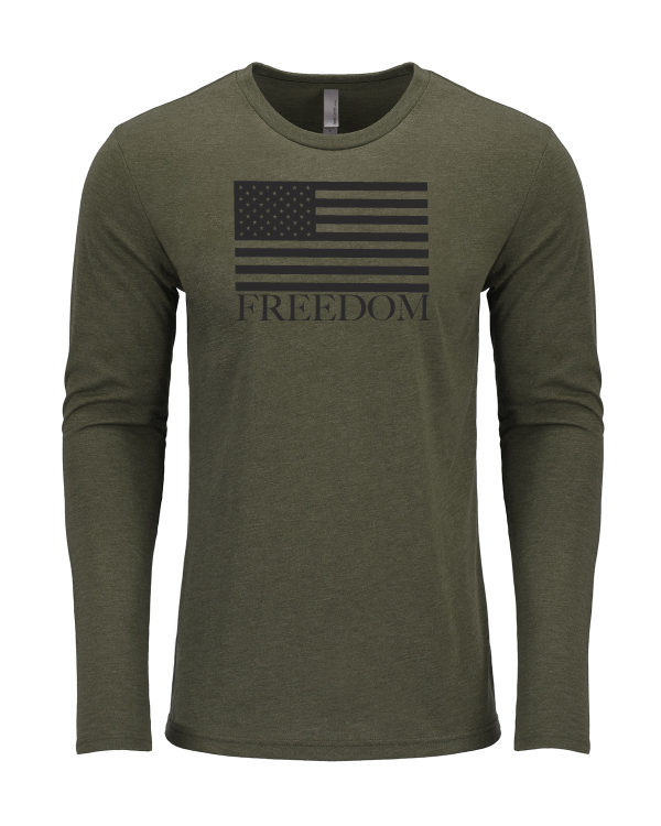"Men's ""Freedom"" Long Sleeve T-Shirt"