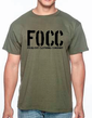 FOCC--Mens Just the Tip tshirt (front)