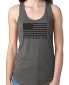 FOCC--Womens Freedom Tank (Grey)