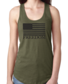 FOCC--Womens Freedom Tank (OD Green)