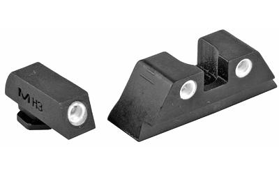 Meprolight Tru-Dot Green/Yellow Night Sights (Glock 9mm/.40S&W)