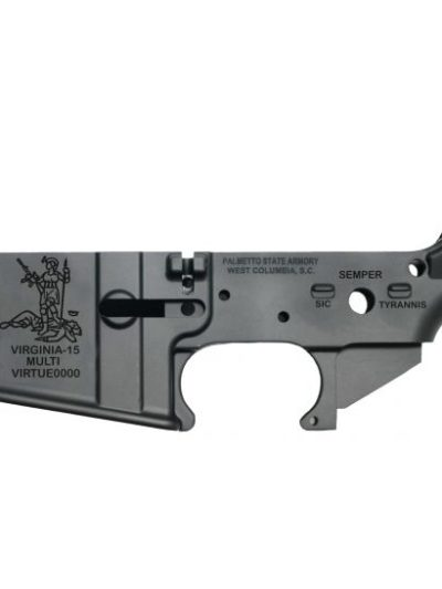 "PSA ""Virginia-15"" AR-15 Stripped Lower Receiver"